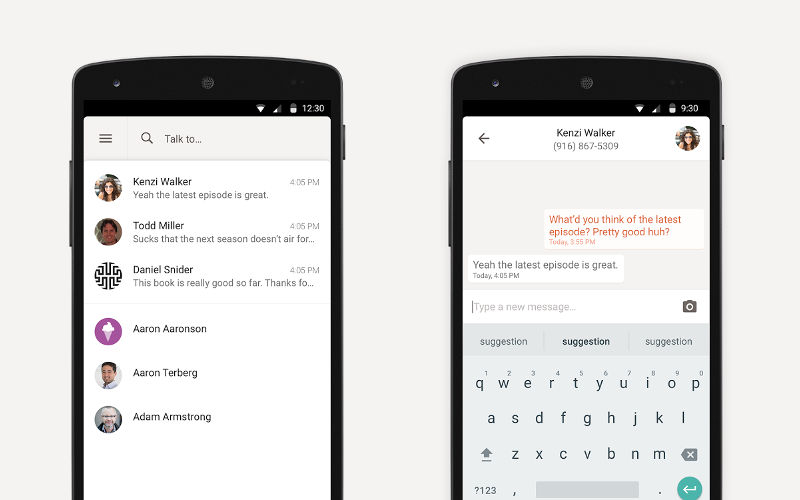 Bolt-now-Charge-messaging-app