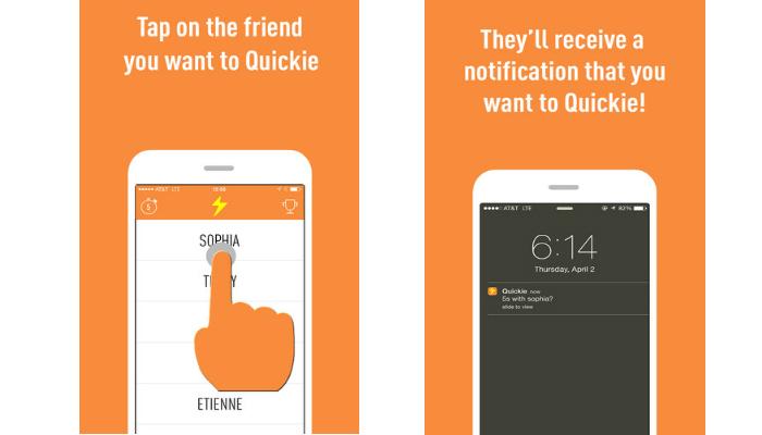 Quickie messenger