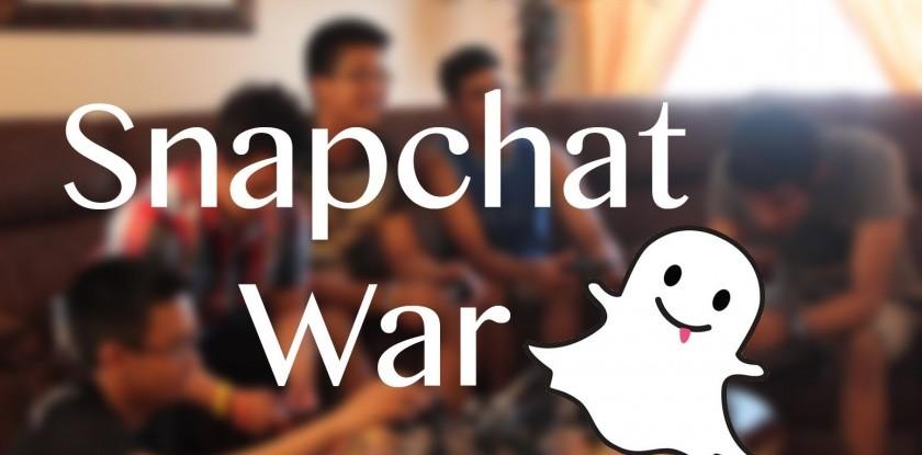 shapchat war