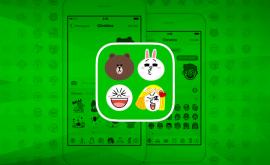 line emoji keybord