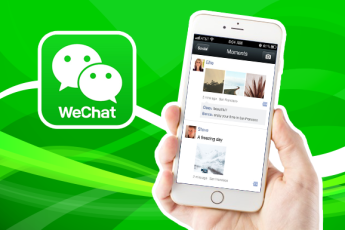 WeChat moments