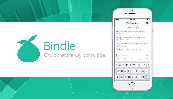 New Bindle iPad Version