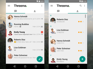 One of Germany's most popular texting apps Threema