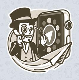 TELEGRAM VERSION FOR APPLE WATCH