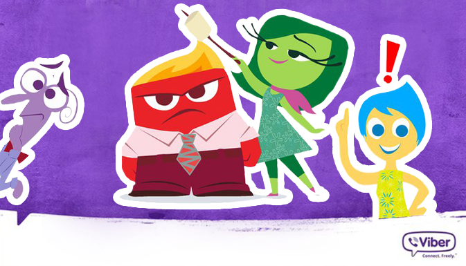 Viber Messenger has presented animated stickers