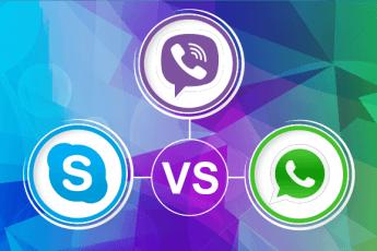 viber vs skype and whatsapp