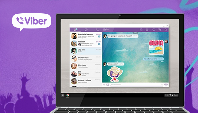 Viber Chrome OS