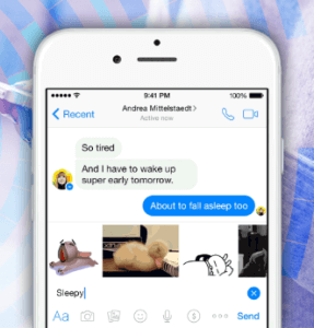 FACEBOOK MESSENGER TESTS FEATURES FOR GIF SHARING