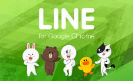 Google Chrome expansion from LINE