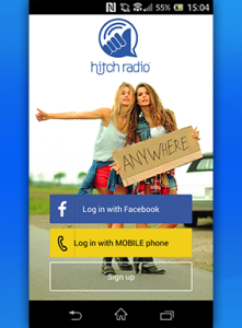 HITCH RADIO IS AN ONLINE RADIO MESSENGER