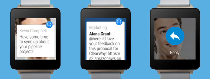How come HipChat is focusing on the smart watch?