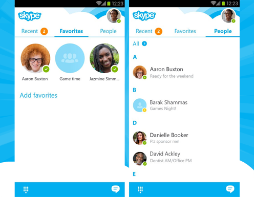 Improved interface will surprise Skype users