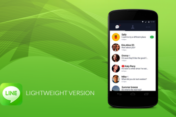 LINE'S LIGHTWEIGHT VERSION FOR ANDROID