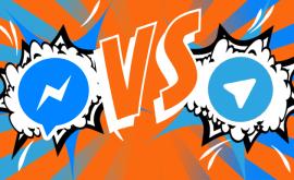 MESSENGER BATTLES FACEBOOK MESSENGER VS TELEGRAM