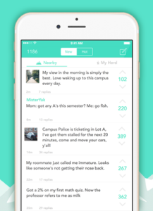 More functionalities for Yik Yak