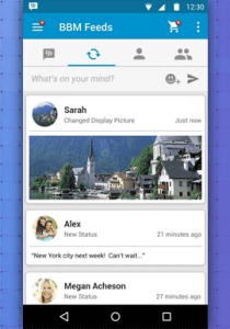 NEW BLACKBERRY MESSENGER FUNCTIONALITIES