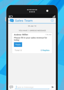 New ambitious IM app for business – Teamchat