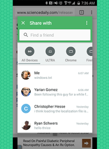 Pushbullet updated Android Windows Phone iOS