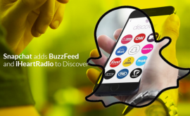 "Rumors proved to be true Snapchat changes ""Discover"" partners"