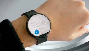Send Hangouts voice messages using a smart watch