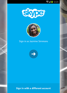 Skype Android update