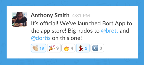 Slack Emoji reactions - express everything