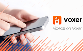 TAKING AND SHARING VIDEOS NOW AVAILABE ON VOXER