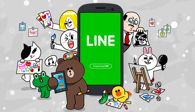 THOUGHTS ON LINE STICKERS