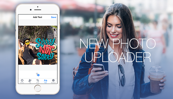 The new Facebook photo service strongly resembles Snapchat
