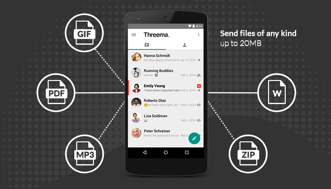 Threema released an Android update