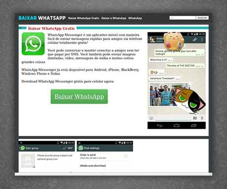 VIRUS AS WHATSAPP