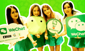 WECHAT IN MYANMAR