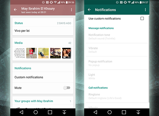 WhatsApp Android has upgraded to 2.12.294