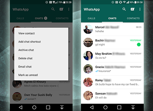 WhatsApp Chats are easier to manage now