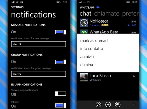 WhatsApp notifications' management will become easier
