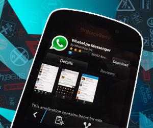 WhatsApp released BETA version 2.12.43.2 for BlackBerry 10