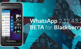 WhatsApp rolls out BlackBerry update!