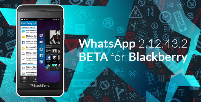 WhatsApp rolls out BlackBerry update!