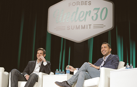 "Forbes is to release an app for future ""movers and shakers"""
