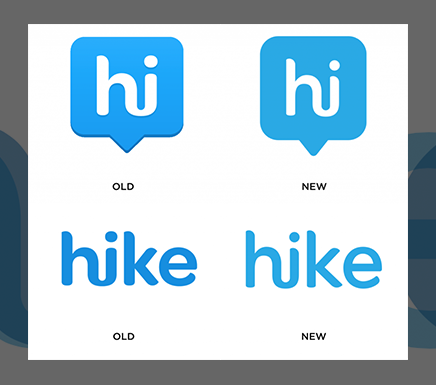 Hike's emblem evolves