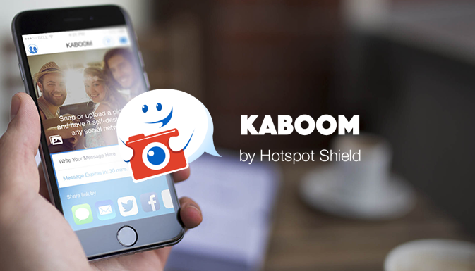 KABOOM – A CURIOUS ALTERNATIVE TO SNAPCHAT