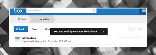 Slack idea of a new button