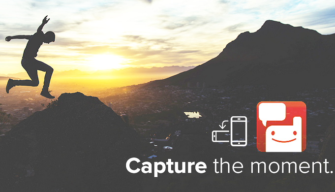 Stay in the moment with Voxer's Capture
