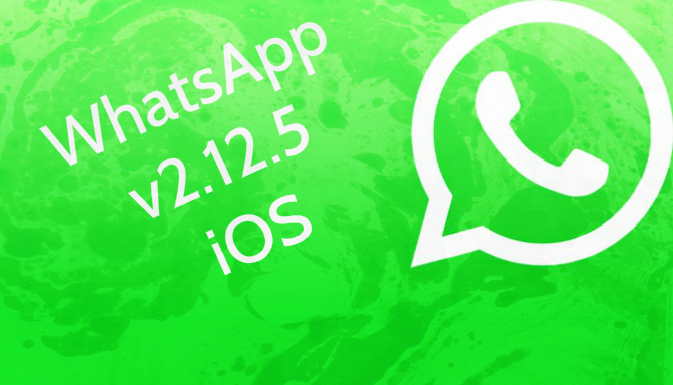 WHATSAPP 2.12.5 UPDATE FOR IOS