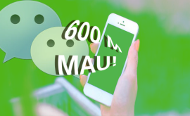 WeChat hits 600 M monthly active users