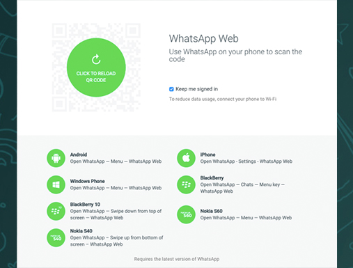WhatsApp on messaging apps market
