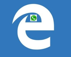 WhatsApp Web for Microsoft Edge