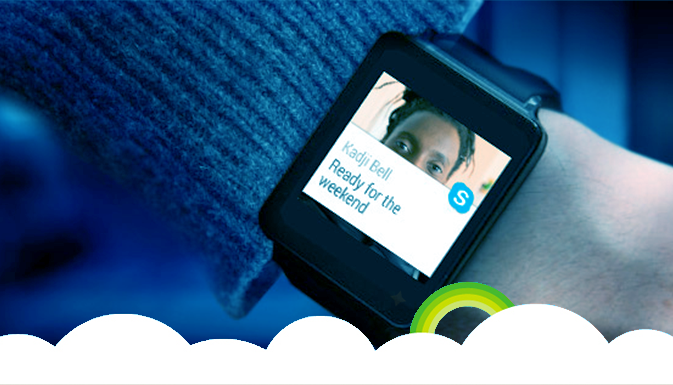 Skype Adapted for Android Wear