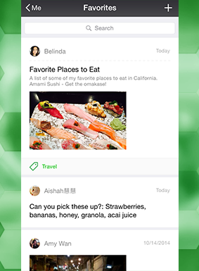 "WeChat suggests ""creating"" in a big way"