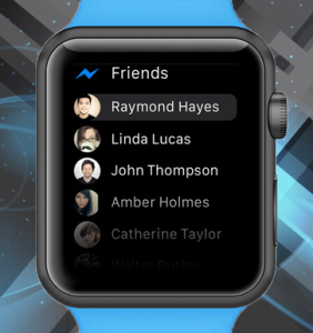 Facebook Messenger Makes Debut on Apple Watch